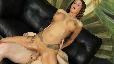 Brook Ultra Rides a Massive Cock Deep In Her Pussy